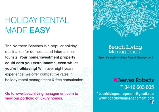 Holiday Home Management Service Sydney