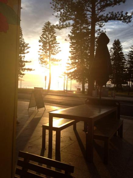 coffee morning at dee why