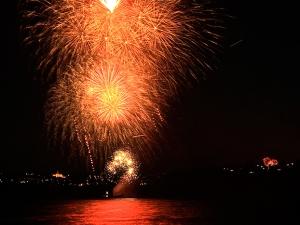 Dee why beach fireworks