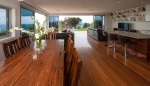 Large dining and living areas Clifftop Holiday Home Sydney
