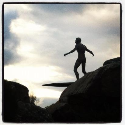 Freshwater Statue