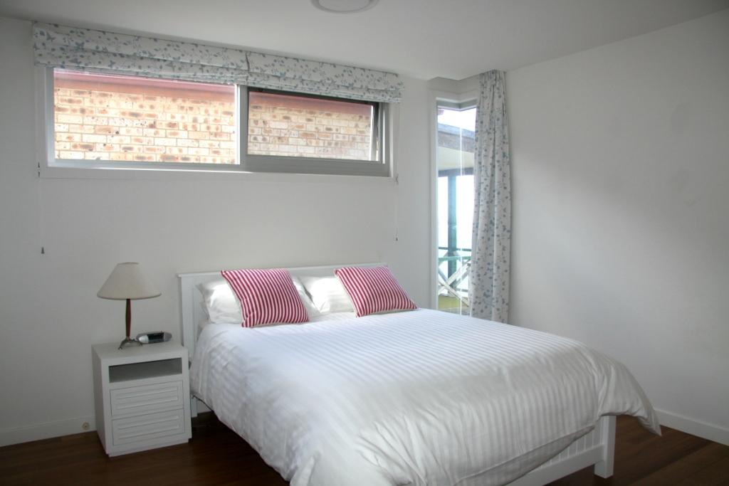 Bedroom Home with water views sydney