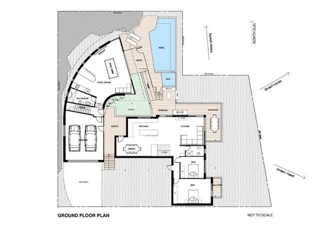 vacation home at beach sydney plans