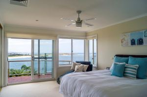 Main Bedroom with stunning ocean views