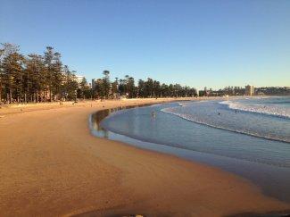 Manly Beach Sunrise Sydney 3.6.14