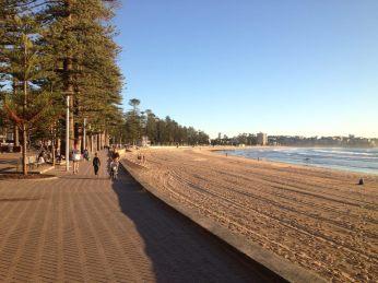 Manly Beach Promenade Sydney 3.6.14