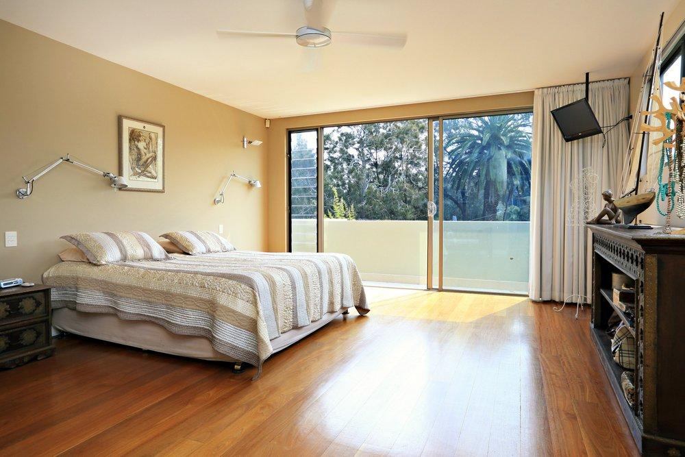North Manly Beach Holiday House Master Bedroom Sydney Australia
