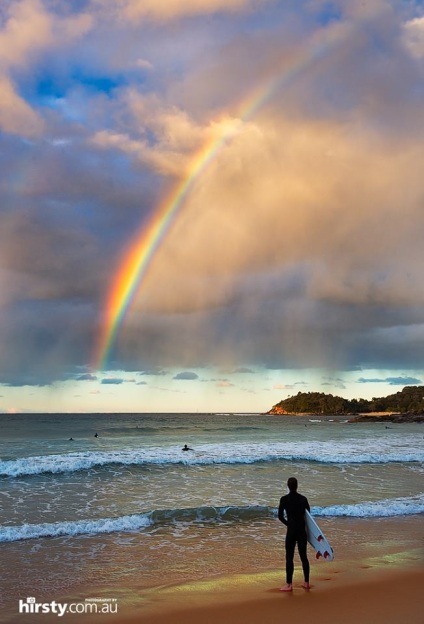 Rainbow at Manly