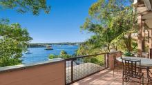 Waterfront Holiday Home Sydney Balmain outdoor dining