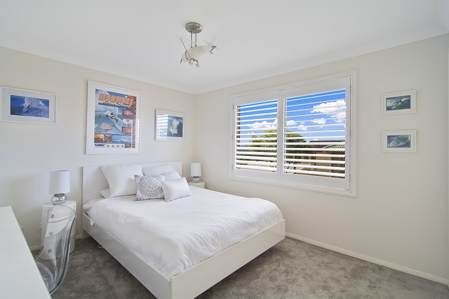 Beach Bliss Holiday Home Bedroom