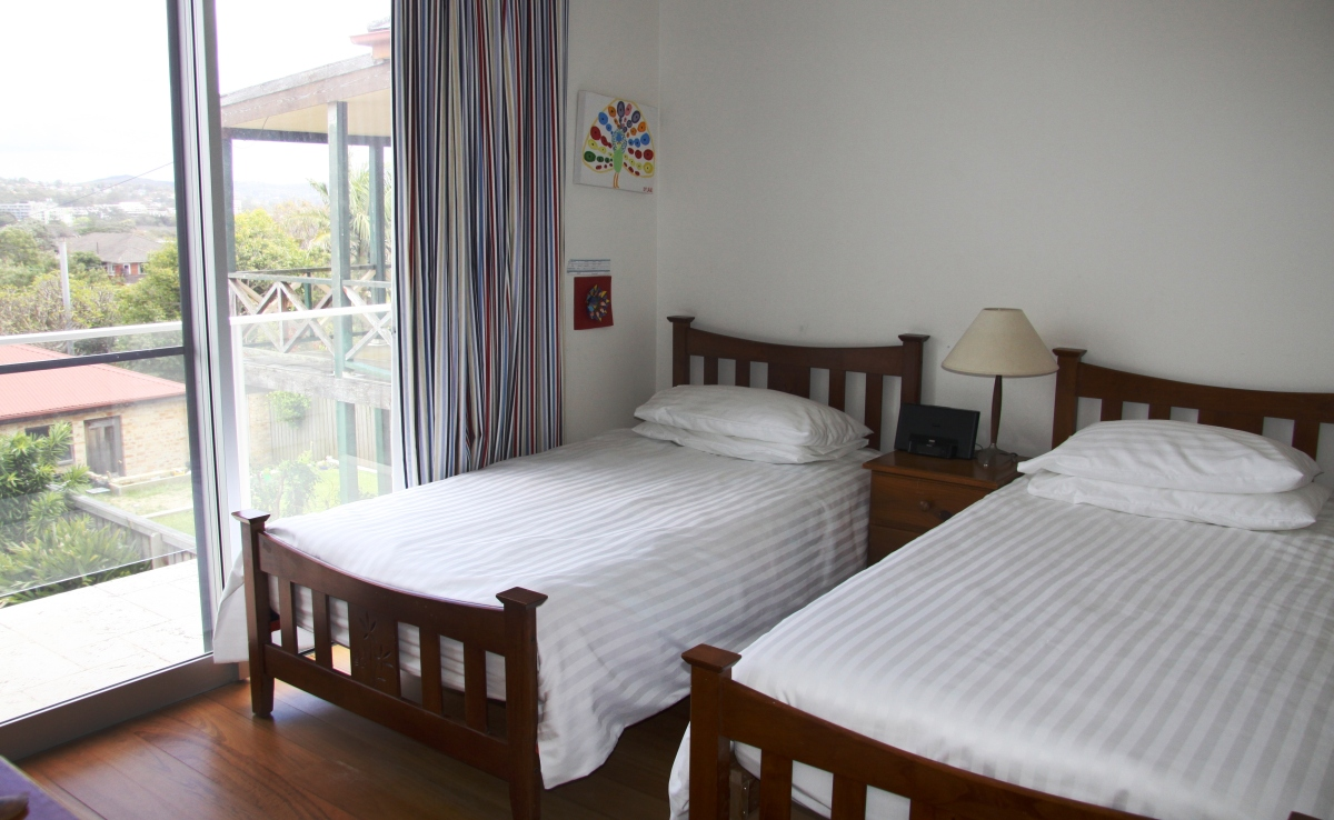 Clifftop Holiday Home Dee Why Beach Bedroom Sydney Vacations