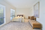 Bedroom at Beach Bliss Holiday House Northern Beaches Sydney