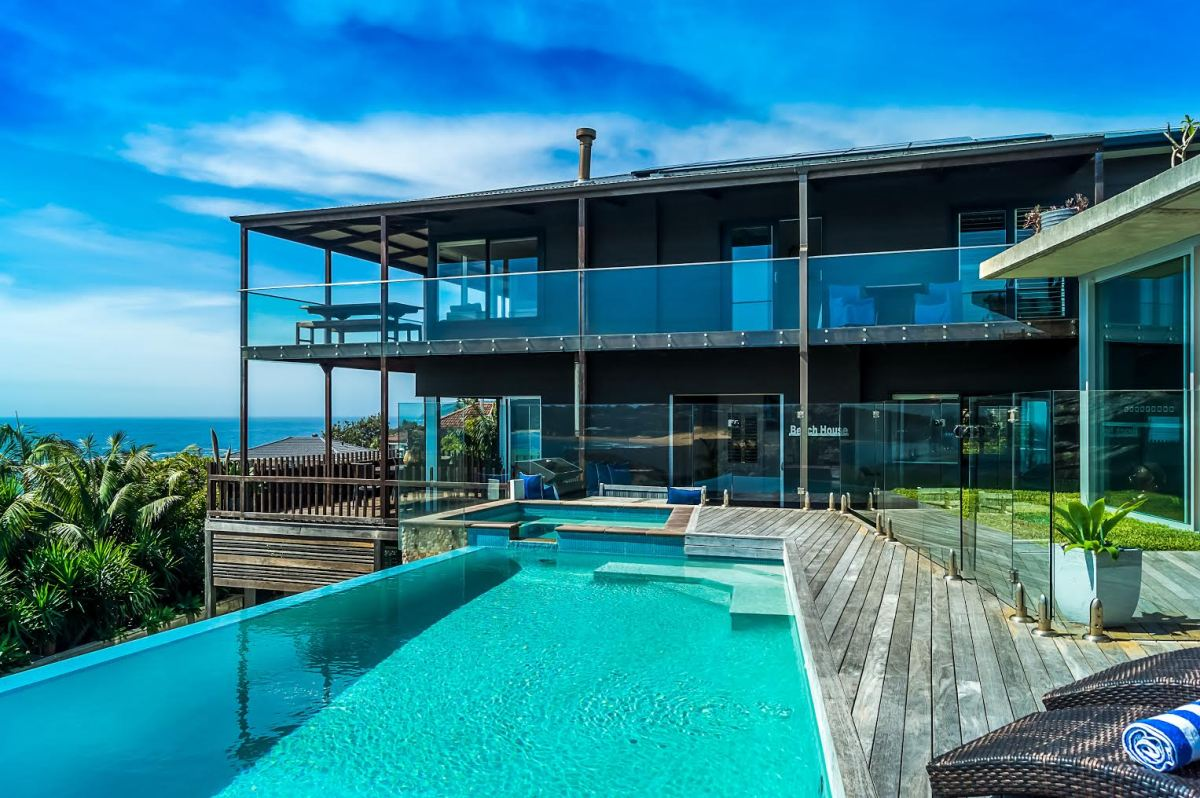 Infinity Pool Water Views Vacation House Sydney Beaches