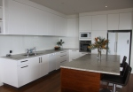 Holiday House Kitchen with ocean views Clifftop Dee Why Beach