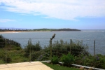 Water views from Clifftop Holiday Home Northern Beaches Sydney