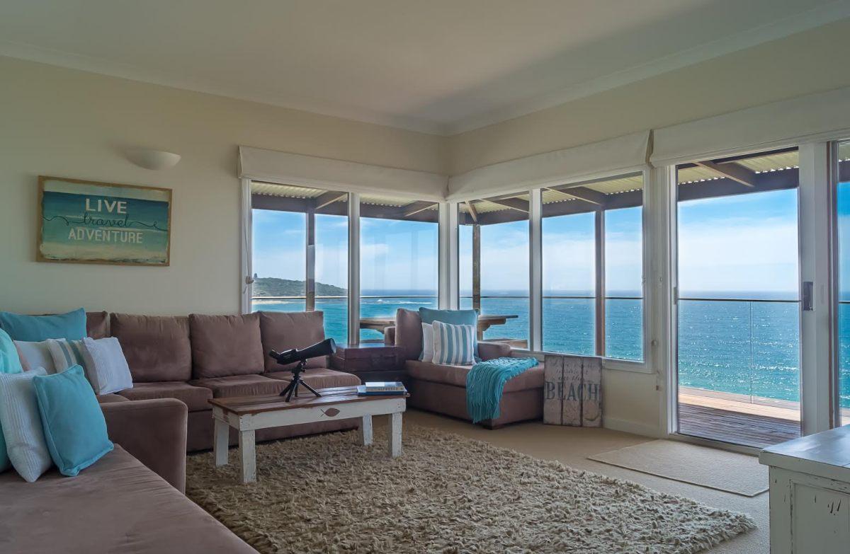 Lounge Room with Ocean Views Freshwater Beach Sydney
