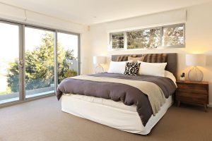 Luxurious bedding Headland Hideaway