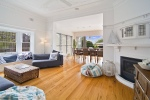 Manly Holiday House Lounge Room Sydney
