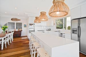 Modern Kitchen at 5 Star Holiday Home Sydney