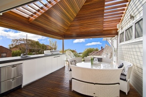 Outdoor Deck area Manly Ultimate Beach house Sydney Northern Beaches
