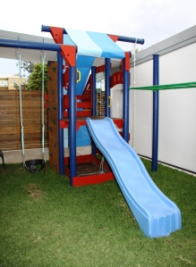 Play gym family holiday home Sydney Northern Beaches