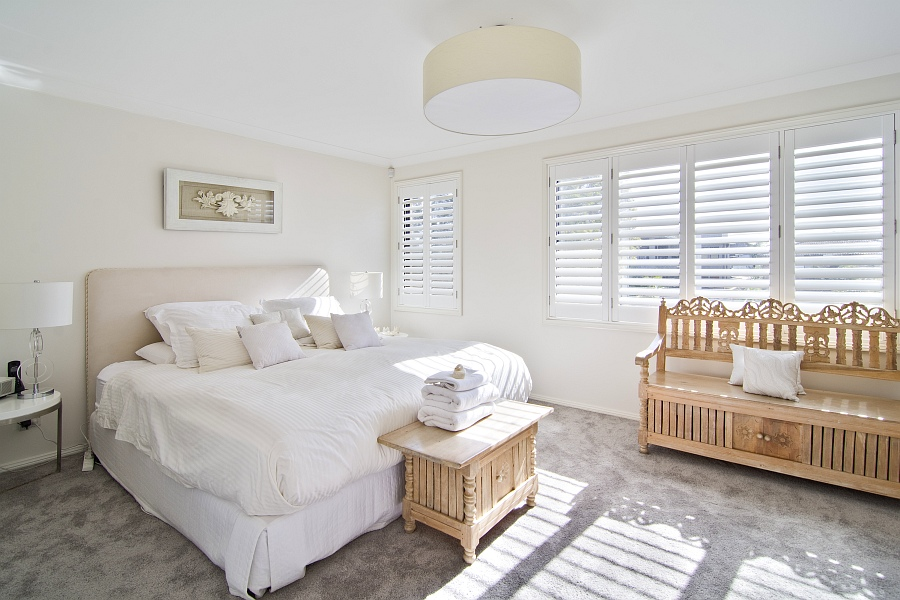 Sydney Holiday House Bedroom Beach bliss