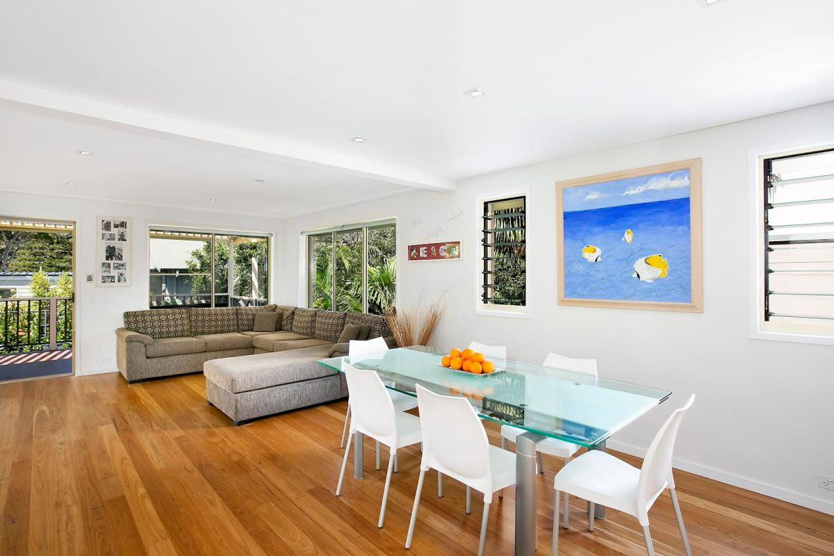 Living Area Little Manly Beach Holiday Home