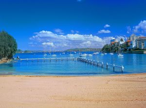View of Little Manly Beach