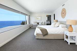 Stunning Water Views from the huge Main Bedroom